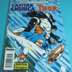 Cómics: CAPITÁN AMÉRICA / THOR. Nº 63. TWO IN ONE. Lote 43924651