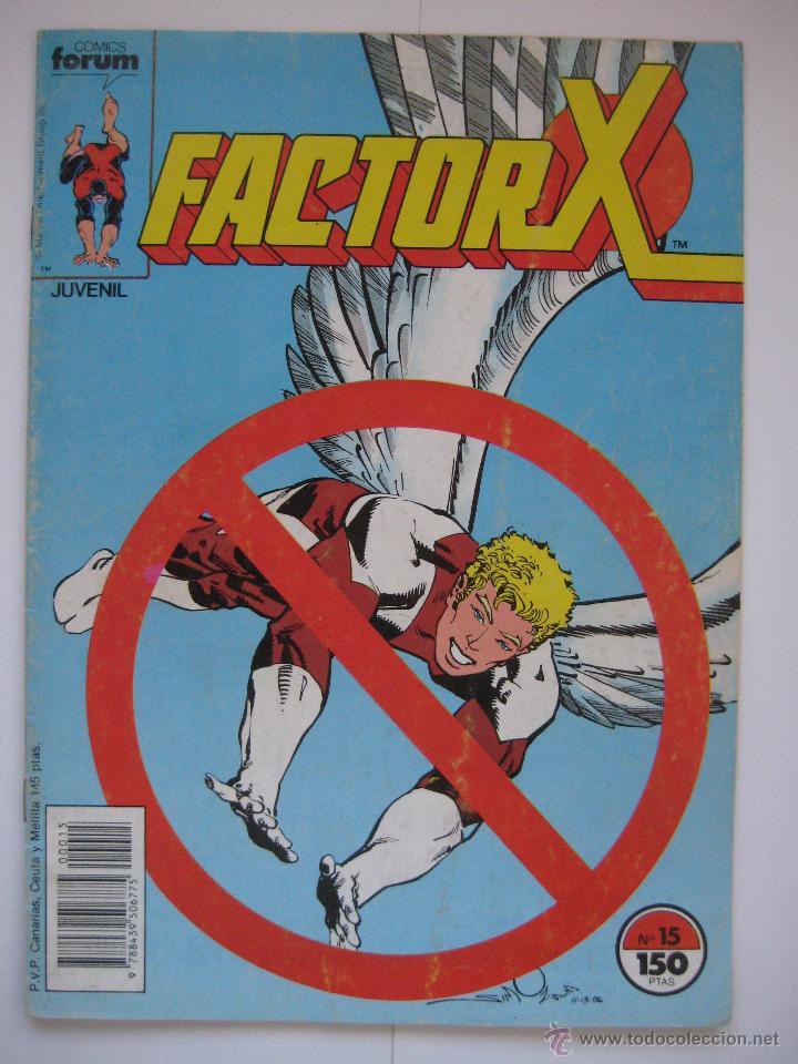 FACTOR X Nº 15. VOL. 1. FORUM (Tebeos y Comics - Forum - Factor X)