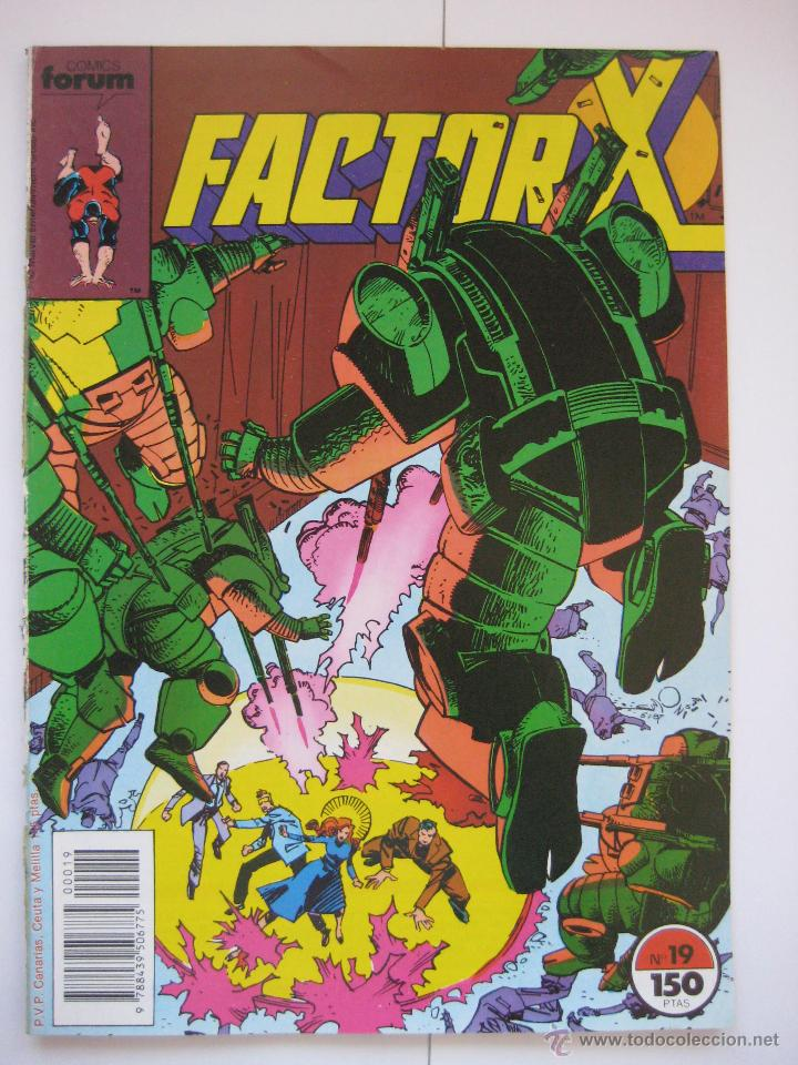 FACTOR X Nº 19. VOL. 1. FORUM (Tebeos y Comics - Forum - Factor X)