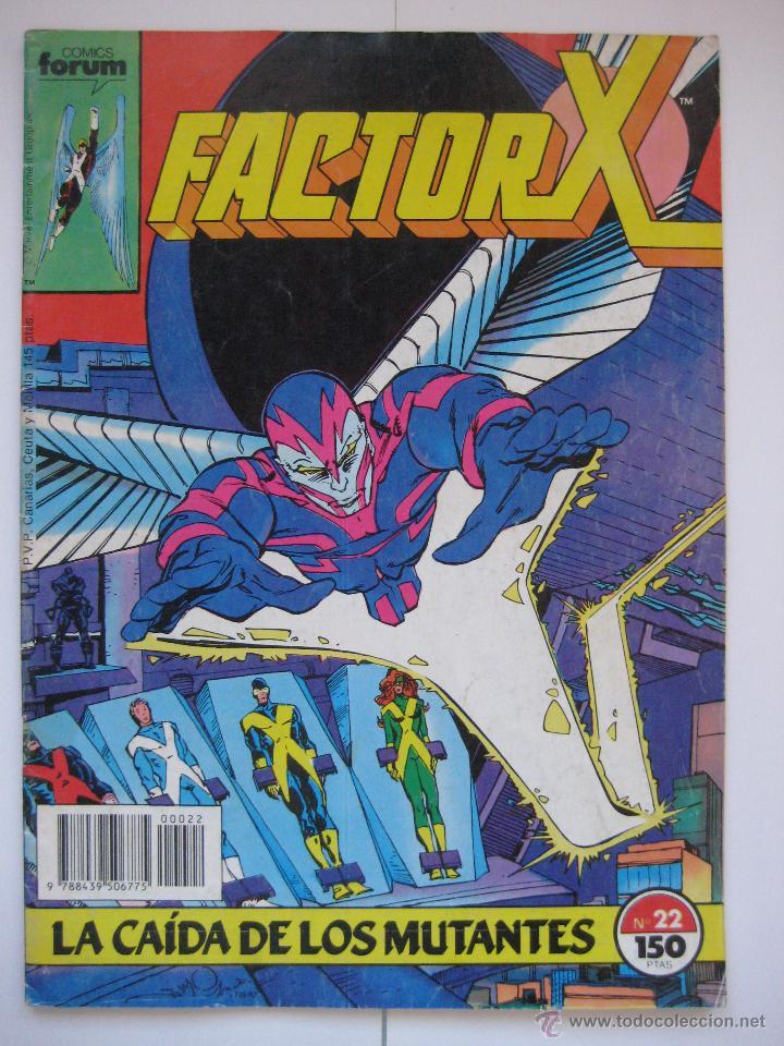 FACTOR X Nº 22. VOL. 1. FORUM (Tebeos y Comics - Forum - Factor X)