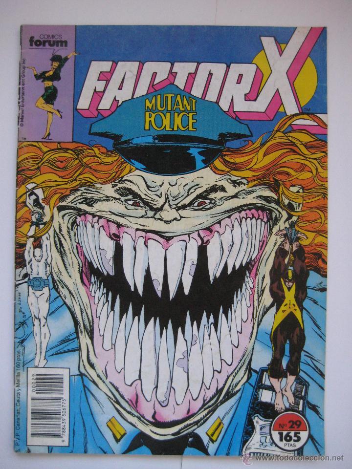 FACTOR X Nº 29. VOL. 1. FORUM (Tebeos y Comics - Forum - Factor X)