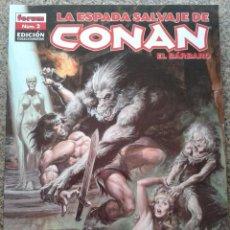 Fumetti: LA ESPADA SALVAJE DE CONAN - Nº 2 - EDICION COLECCIONISTA -- FORUM --. Lote 43985511
