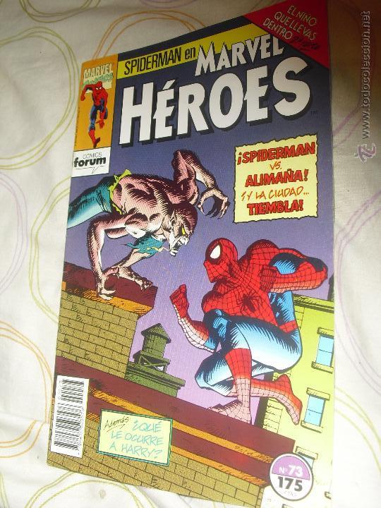 MARVEL HÉROES VOL I FORUM Nº 73 SPIDERMAN EL NIÑO QUE LLEVAS DENTRO (Tebeos y Comics - Forum - Spiderman)