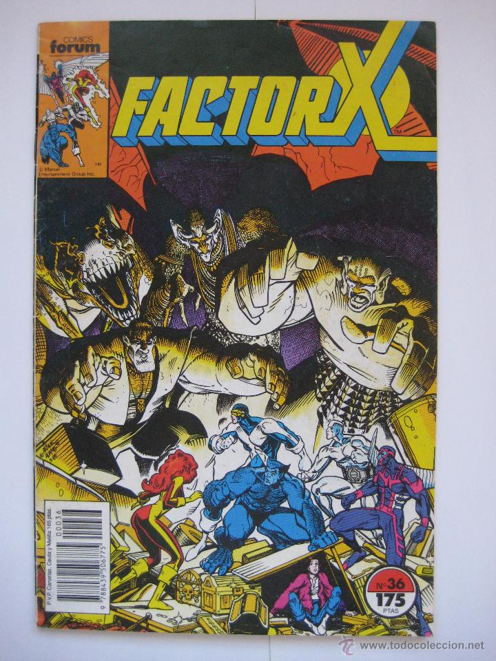 FACTOR X Nº 36. VOL. 1. FORUM (Tebeos y Comics - Forum - Factor X)