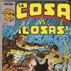 Cómics: LA COSA VS LAS COSAS - Nº 11 AL 15 - RETAPADO FORUM 400 PTS.. Lote 44002214