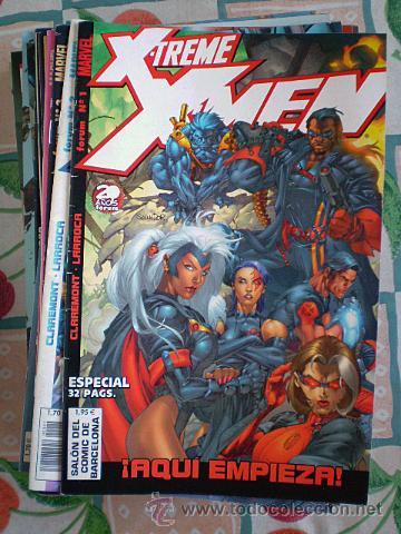 XTREME X-TREME X-MEN (CLAREMONT, LARROCA) COMPLETA, 41 CÓMICS + TOMO TORMENTA: ARENA (Tebeos y Comics - Forum - X-Men)