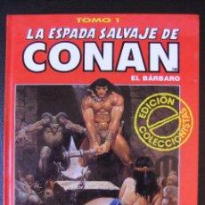 Cómics: LA ESPADA SALVAJE DE CONAN Nº 1 ALBUM ROJO. Lote 144108984