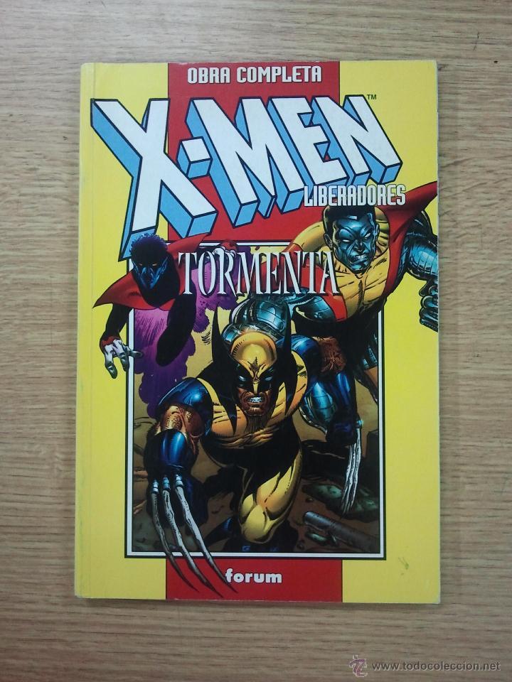 X-MEN LIBERADORES + TORMENTA RETAPADO (2 COLECCIONE COMPLETAS 8 NUMEROS) (Tebeos y Comics - Forum - Retapados)