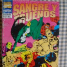 Comics: SANGRE Y TRUENOS Nº 4 FORUM. Lote 44116149