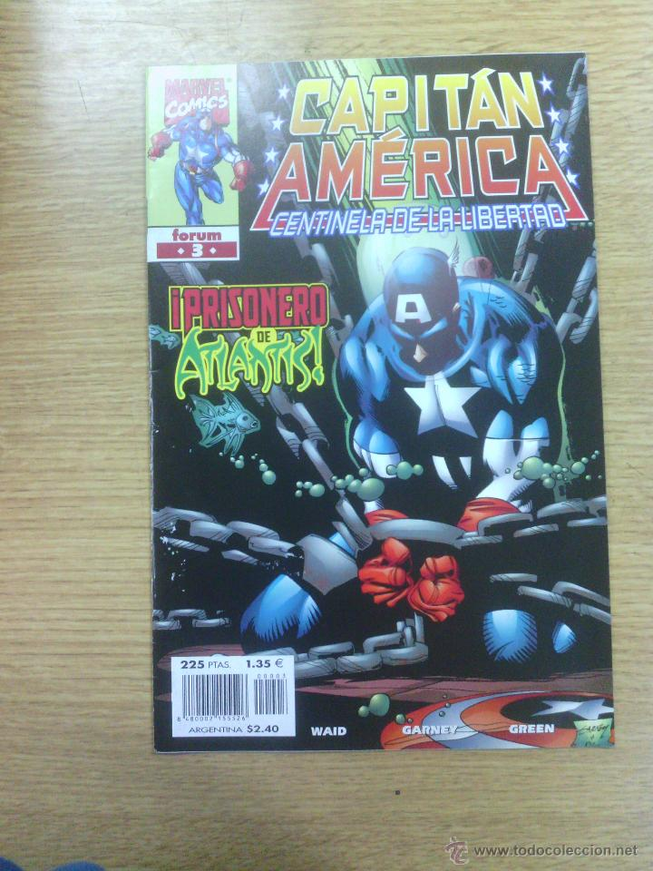 CAPITAN AMERICA CENTINELA DE LA LIBERTAD #3 (Tebeos y Comics - Forum - Capitán América)