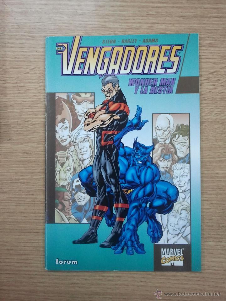 LOS VENGADORES WONDER MAN Y LA BESTIA (Tebeos y Comics - Forum - Vengadores)