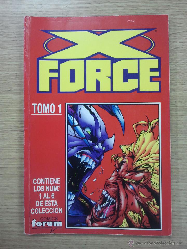 X-FORCE VOL 2 RETAPADO #1 (NUMEROS 1 A 6) (Tebeos y Comics - Forum - Retapados)