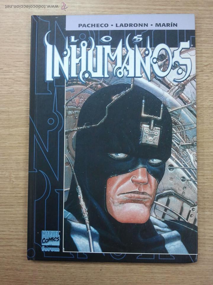 LOS INHUMANOS (PACHECHO - LADRONN) (Tebeos y Comics - Forum - Prestiges y Tomos)