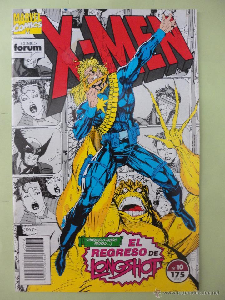 X MEN, Nº 10, MARVEL, FORUM (Tebeos y Comics - Forum - X-Men)