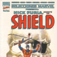 Cómics: FORUM - TOMO SELECCIONES MARVEL NICK FURIA ( PORTADA LOPEZ ESPI ). Lote 44294377