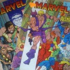 Cómics: COMICS VENGADORES CLÁSICOS MARVEL 10 Y 11. Lote 44320059