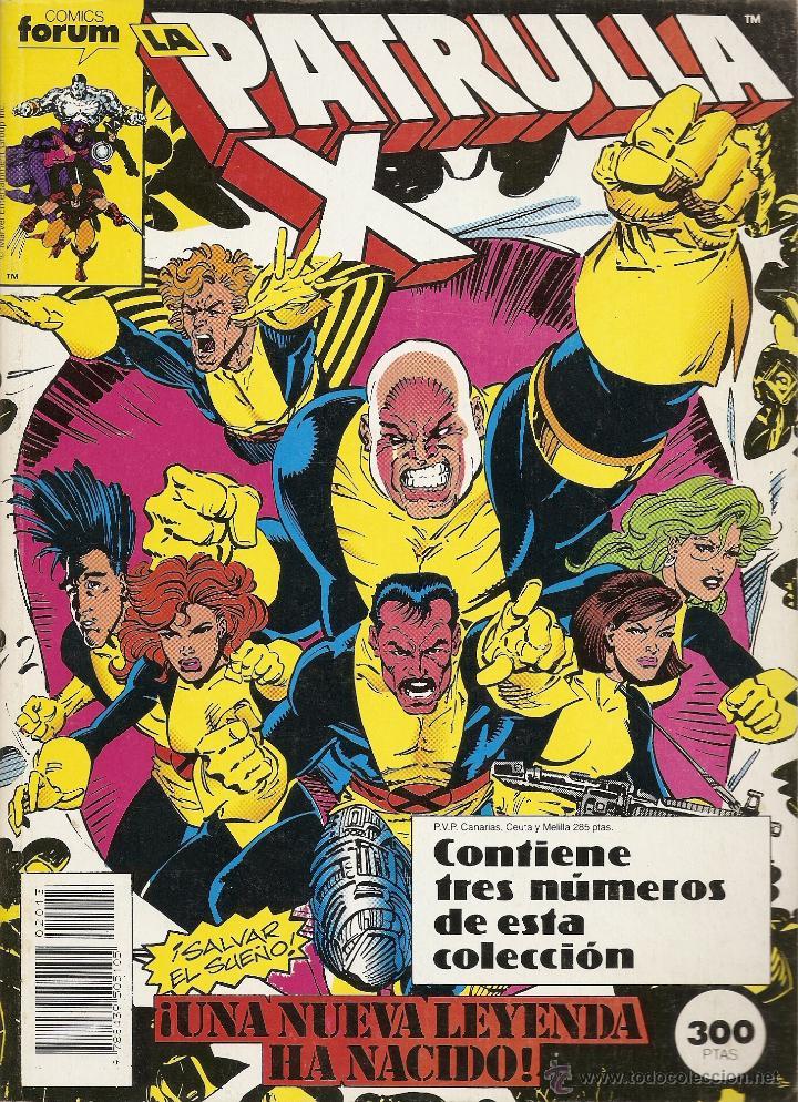 PATRULLA X DEL 97 AL 99 RETAPADO FORUM MUY BUEN ESTADO (Tebeos y Comics - Forum - Retapados)