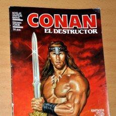 Comics : CONAN EL DESTRUCTOR - ADAPTACIÓN DE LA PELÍCULA AL CÓMIC POR JOHN BUSCEMA - EDICIONES FORUM - 1984. Lote 44403234
