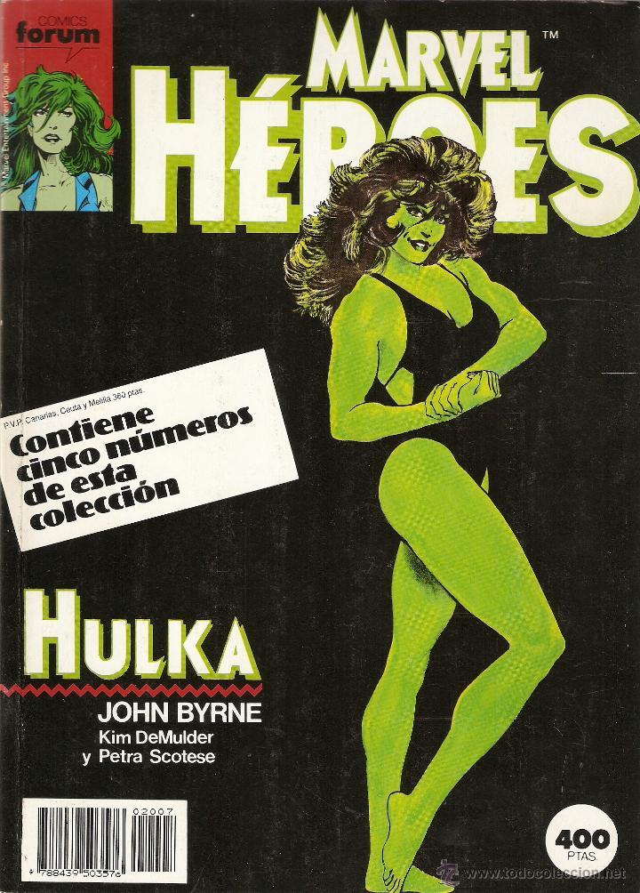 FORUM -MARVEL HEROES RETAPADO CON LOS NUMEROS 36 AL 40 MUY BUEN ESTADO (Tebeos y Comics - Forum - Retapados)