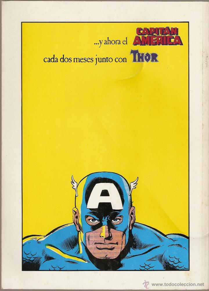 Cómics: FORUM -MARVEL HEROES RETAPADO CON LOS NUMEROS 36 AL 40 MUY BUEN ESTADO - Foto 2 - 39015338