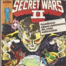 Cómics: SECRET WARS II DEL 21 AL 25 RETAPADO FORUM BASTANTE BUENO. Lote 44467011