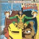 Cómics: MARVEL TWO IN ONE IRON MAN Y CAPITAN MARVEL 41 AL 44 RETAPADO FORUM MUY BUEN ESTADO . Lote 44468005