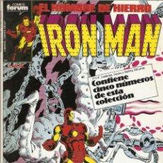 Cómics: IRON MAN EL HOMBRE DE HIERRO 26 AL 30 RETAPADO FORUM MUY BUEN ESTADO . Lote 44487749