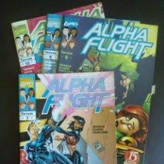 Cómics: ALPHA FLIGHT VOLUMEN 2 NÚMEROS 7, 8 ,9 ,10. Lote 44624657