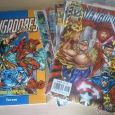 Cómics: COMICS VENGADORES: HEROES REBORN. COMPLETA 12 NÚMEROS. FORUM. Lote 44649503