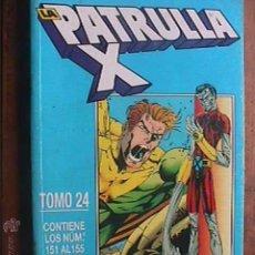 Cómics: RETAPADO LA PATRULLA X TOMO 24, Nº 151 AL 155, FORUM, 1995. Lote 44653882