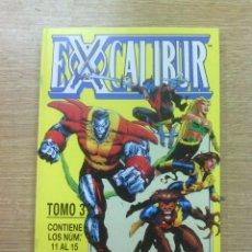 Cómics: EXCALIBUR VOL 2 RETAPADO #3 (NUMEROS 11 A 15). Lote 44660882