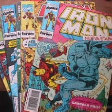 Cómics: IRON MAN VOL. 2 Nº 2, 4, 5, 6, 7, 8 Y 12, MARVEL, FORUM, 1992. Lote 44664779