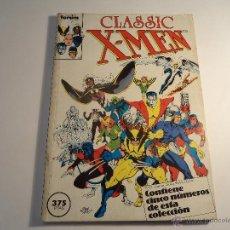 Cómics: CLASSIC X-MEN. RETAPADO. CONTIENE LOS NÚMEROS 1 AL 5. (M-35). Lote 44681635