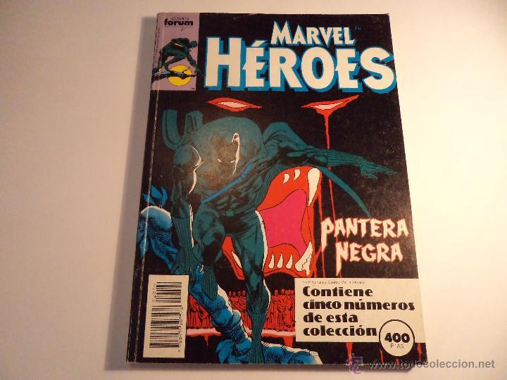 MARVEL HEROES. RETAPADO. CONTIENE LOS NÚMEROS 45 AL 49. (M-35) (Tebeos y Comics - Forum - Retapados)