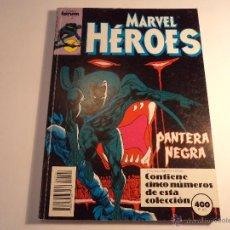 Cómics: MARVEL HEROES. RETAPADO. CONTIENE LOS NÚMEROS 45 AL 49. (M-35). Lote 44681690