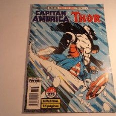 Comics : CAPITÁN AMÉRICA. Nº 63. MARVEL TWO IN ONE. FORUM. (A-7). Lote 44682270