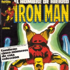 Cómics: FORUM - RETAPADO IRON MAN VOL.1 NUM. 31-32-33-34-35 . MBE. Lote 44765417