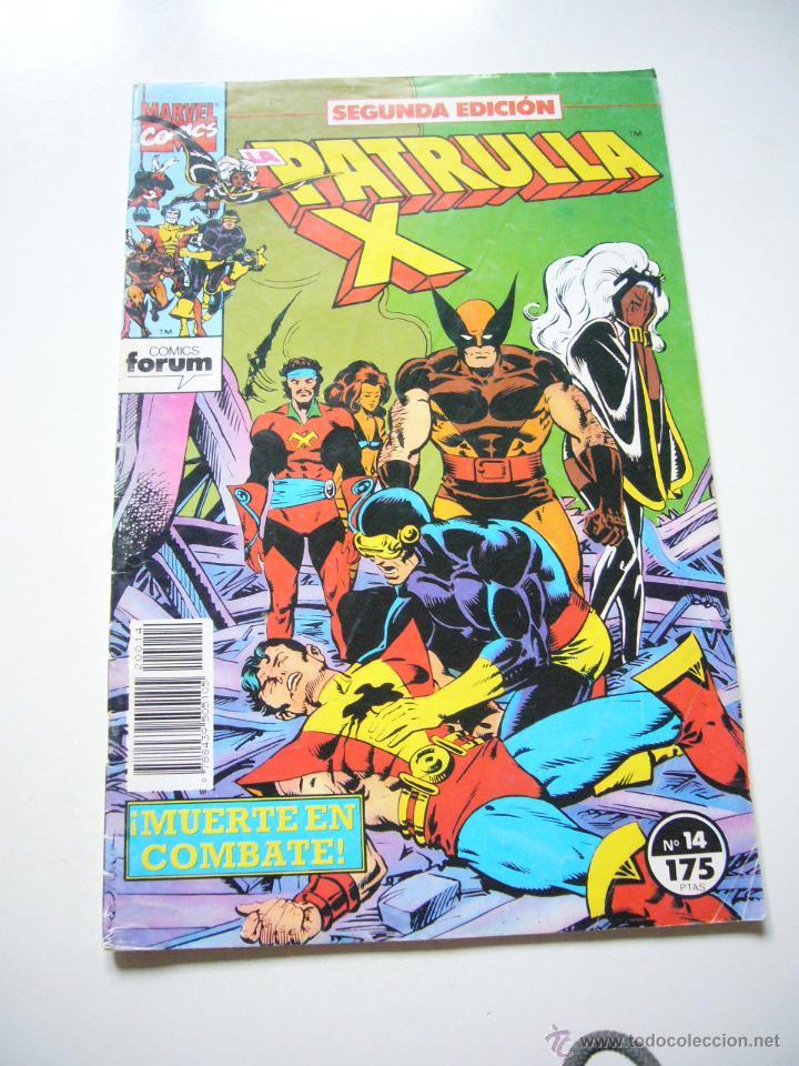LA PATRULLA X VOL I Nº 14 2º EDICION FORUM C9X3 (Tebeos y Comics - Forum - Patrulla X)