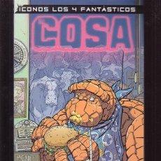 Cómics: ICONOS LOS 4 FANTASTICOS - LA COSA. Lote 44787640
