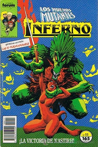 LOS NUEVOS MUTANTES INFERNO N.11 (Tebeos y Comics - Forum - Nuevos Mutantes)