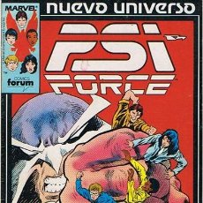 Cómics: NUEVO UNIVERSO PSI FORCE N.3 . Lote 44908493