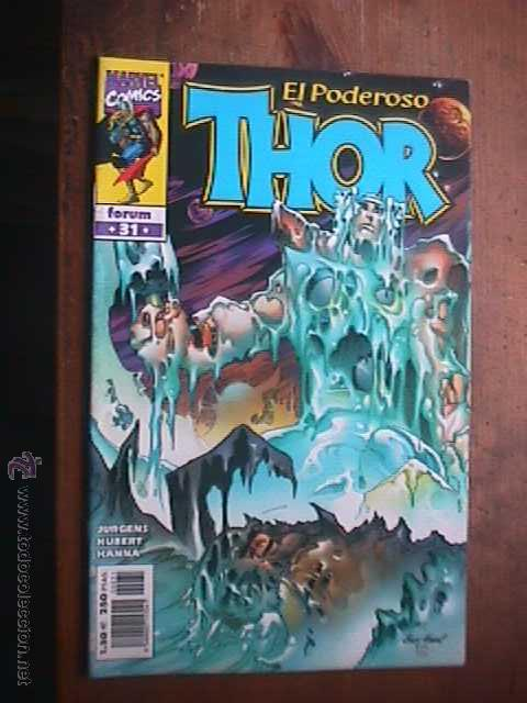 EL PODEROSO THOR, VOL.IV, Nº 31, MARVEL, FORUM, 2001 (Tebeos y Comics - Forum - Thor)
