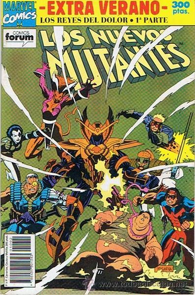 LOS NUEVOS MUTANTES EXTRA VERANO (Tebeos y Comics - Forum - Nuevos Mutantes)