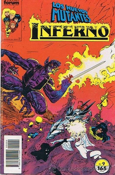 LOS NUEVOS MUTANTES INFERNO N.9 (Tebeos y Comics - Forum - Nuevos Mutantes)