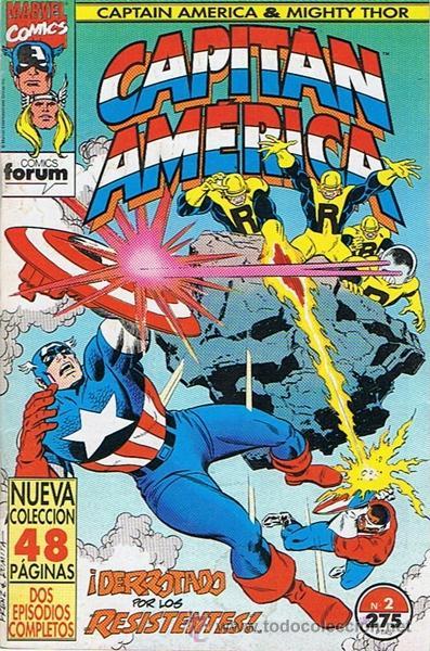 CAPITÁN AMÉRICA N.2 (Tebeos y Comics - Forum - Capitán América)