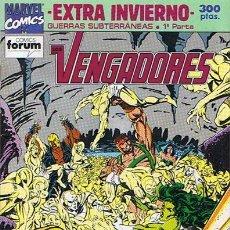 Cómics: LOS VENGADORES EXTRA INVIERNO. Lote 247330275
