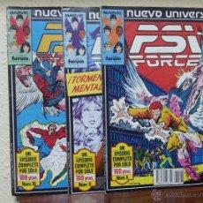 PSI FORCE - UNIVERSO MARVEL - MARVEL COMICS - COMICS FORUM - 10 NUMEROS