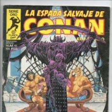 Cómics: LA ESPADA SALVAJE DE CONAN 41 - 1ª EDICIÓN - FORUM . Lote 44960625