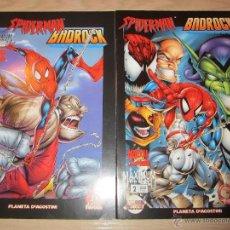 Comics: SPIDERMAN BADROCK COMPLETA 2 NºS. Lote 44971750