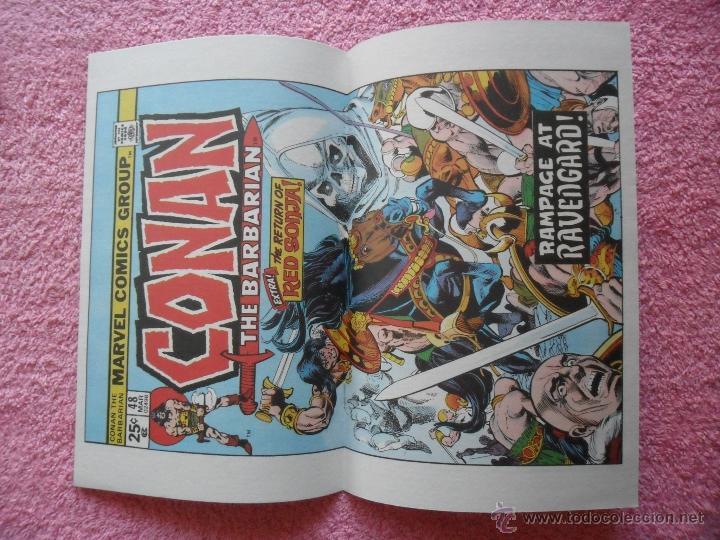 Cómics: conan el barbaro 49 ediciones forum 1999 fantasia heroica con poster - Foto 2 - 45000386